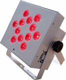Fábrica de Rasha 12*18W 6en1 Rgbaw alimentado por batería UV LED inalámbricas PAR luz para la Boda con calle Charing Caso