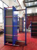 廃水の処理場のための熱交換器