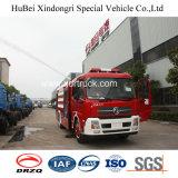 Tipo esposto 8ton del camion di lotta antincendio del serbatoio di acqua di Dongfeng Tianjin