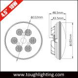 """4.5 """" 18W luces selladas LED del alimentador de la viga de la IGUALDAD 36"""