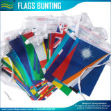 32 paesi differenti che Bunting le bandierine