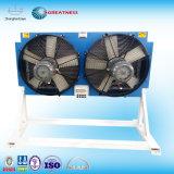 シェルおよびひれのタイプ空気圧縮機の熱交換器