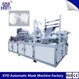 Pie de la mano alta Effcency Equipamiento de máquinas de fabricación de máscaras