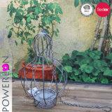 El óxido de antigüedades de soporte de la sembradora colgantes decorativos Vintage