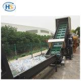 プラスチックフィルムのリサイクルのための2ステージの単一ねじ押出機機械