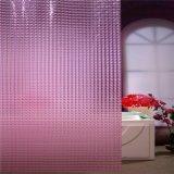 3D rideau de douche imprimé brillant jeu de raccords de produits pour salle de bains