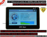 """Klassieke Draagbare Handbediende """" GPS Glonass van de Navigatie van Moto van de Auto van in-streepje 4.3 Ingebouwde Module, de Zender van de FM, Huivering 6.0, GPS van de Auto GPS van de Antenne van de Ontvanger Navigator"""