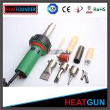 Регулируемая температура Heatfounder 1600W горячего воздуха для сварки пластика
