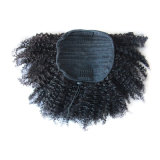 Capelli umani ricci crespi del Ponytail del Drawstring di Afro per le donne di colore