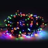 24V 낮은 전압 30m 200LED 끈 빛 온난한 화이트 크리스마스 빛