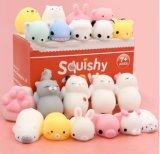 Mochi Satkago Squishies Squishy jouets, 20 PC Mini Stress Squishies Squishys Mochi animaux jouets Panda Squishy Squishy Kawaii Cat Calmant le stress de l'anxiété des jouets pour