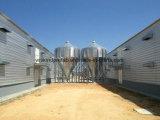 Il pollame d'acciaio prefabbricato della costruzione alloggia