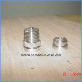 上の精密習慣45の鋼鉄亜鉛黄色CNCの機械化の部品