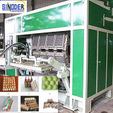 Gute Qualitätsaltpapier-Massen-Formteil-Ei-Tellersegment-Maschine