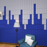 Panneau de mur matériel insonorisant de polyester