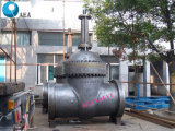 Válvula de porta renovável da cunha do assento da guarnição manual de Stellite