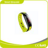防水ちり止めの血圧の心拍数のモニタのスマートな時計バンド