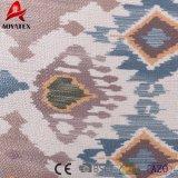 Polyesterlinnet-kundenspezifisches quadratisches Stickereithrow-Kissen 100%