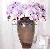 Orchidea di farfalla di seta delle teste all'ingrosso dei fiori artificiali 7