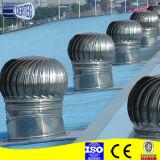 Ventilatore di filatura di alluminio del cappuccio del camino del tetto