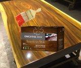 Le polyuréthane semi-brillant revêtement vernis pour bois