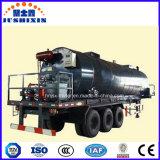 3 de Semi Aanhangwagen van de Tanker van het Vervoer van het Asfalt van het Bitumen van assen met Brander
