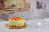 ふたが付いているアクリルのケーキの立場