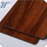 خشبيّة حبة لون فينيل أرضية لوح, [بفك] فينيل لوح [بفك] أرضية لوح فينيل لوح