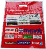 Gravure personnalisée imprimé Recylable vêtement promotionnel en plastique opaque sacs fourre-tout