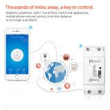 Base de l'interrupteur sans fil WiFi Smart Home Automation Module de relais de commande à distance pour les smartphones Android Apple 10A 220V