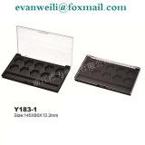 Cosmétique Plastique183-1 Weili Y Emballage Palette fard à paupières en poudre compacte