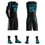 Bon marché de l'équipe de basket-ball personnalisé Jerseys uniformes de basket-ball de conception