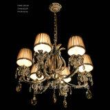 Poignée de commande de l'éclairage moderne Phine avec cristal de Swarovski ou K9 Fixture lustre de la lampe témoin de décoration pour l'hôtel ou une utilisation domestique