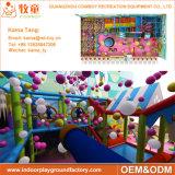 O balanço interno da criança, campo de jogos interno das crianças, caçoa o equipamento interno do campo de jogos