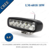 Nicht für den Straßenverkehr 4WD SUV Nebel des Punkt-Träger-, derarbeits-Licht CREE der Lampen-18W LED 6 Zoll fährt