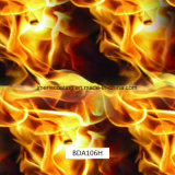 Venditore più importante pellicole ardenti del fuoco dell'acqua di trasferimento di stampa di stampa di Hydrographics per la bici del motore e le automobili (BDA106H)