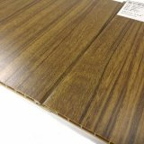Écologique du grain du bois de panneaux muraux étanche / panneaux de plafond en PVC