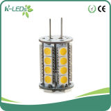 30SMD5050 12-24V 6500k resistente al agua LED G4