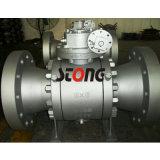 API Forja de acero montado en la válvula de bola del muñón de 600 libras 4 pulgadas