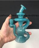 Soberbo pulverizado vidro colorido fumar Tubo de água das plataformas de DAB