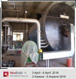 Caixa de elevada eficiência de máquinas para produção de pó de gesso