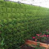 9 poches Usine de montage mural vertical Garden croître des sacs de conteneur