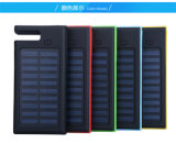 7000mAh solar inteligente de carga rápida batería recargable de Li-ion Power Bank