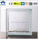 Jinghuaのガラス・ブロックの雄ん鶏のテールゆとり190X190X80mmのガラスレンガかブロック