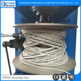 Linha de alta freqüência máquina da extrusão do enrolamento do fio da produção do cabo
