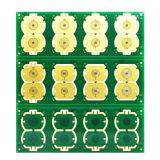 コイルデザインの4つの層の液浸の金PCBのボード