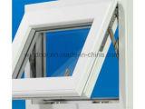 Venster van het Frame UPVC van het Blad van Sinlge het Witte met de Prijs van de Fabriek