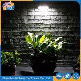 IP65는 백색 태양 정원 LED 벽 옥외 빛을 데운다