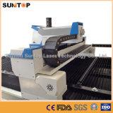Máquina de corte a laser de aço inoxidável de 800 Watt / Máquina de corte a laser para corte de chapa metálica