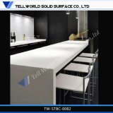 2016 Top Sales Custom Bar Counter Commercial Newly Design LED Orange Lighted Kfc Bar Counter with Light